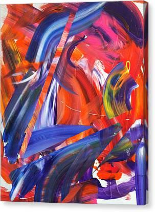 Lyrical Wax Canvas Print by Richard Day