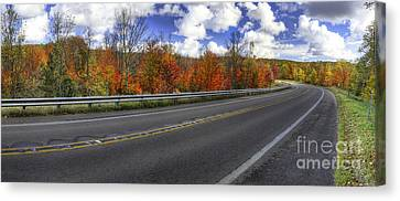M-22 In Fall Canvas Print