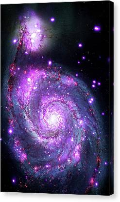 M51 Whirlpool Galaxy Canvas Print