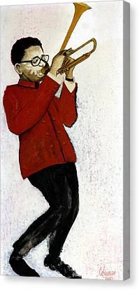 M7 Dizzy Gillespie Canvas Print by Dave Coleman
