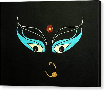 Maa Kali II Canvas Print by Kruti Shah