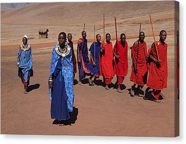 Maasai People Canvas Print