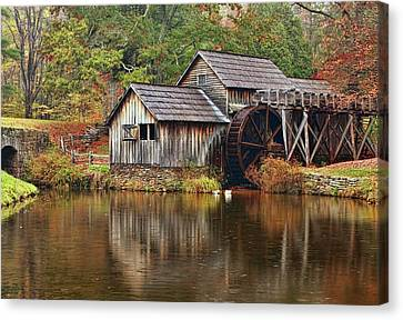 Mabry Mill Canvas Print by Marcia Colelli