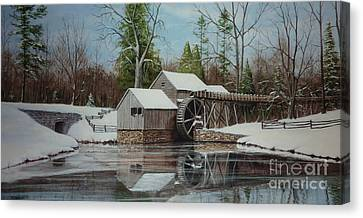 Mabry Mill Canvas Print