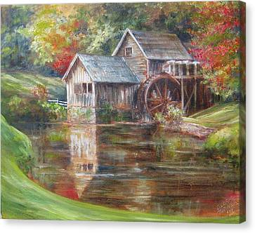Mabry Mill Sold  Canvas Print
