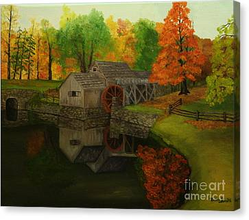 Mabry Mill Canvas Print by Timothy Smith