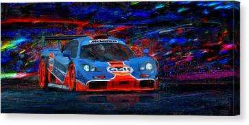 Mac And G's Canvas Print by Alan Greene