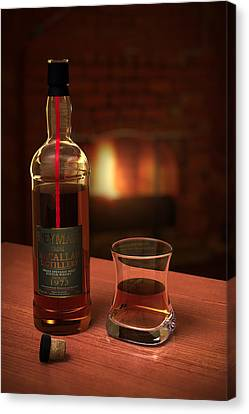 Macallan 1973 Canvas Print by Adam Romanowicz