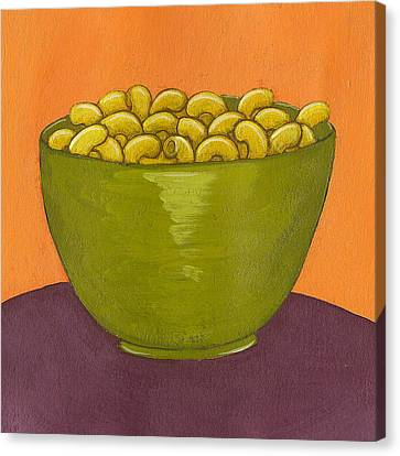 Macaroni And Cheese Canvas Print by Christy Beckwith