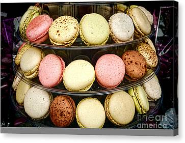 Macaroons Canvas Print by Olivier Le Queinec