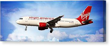Virgin America Mach Daddy - Rare Canvas Print