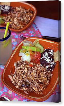 Machaca, Shredded Beef Breakfast, El Canvas Print