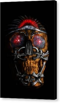 Future Tech Canvas Print - Machine Head by Nathan Wright