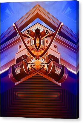 Machine Maid Canvas Print by Wendy J St Christopher