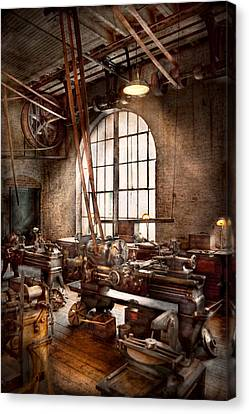Machinist - I Like Big Tools Canvas Print
