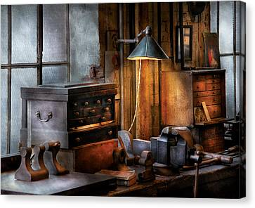Machinist - My Workstation Canvas Print
