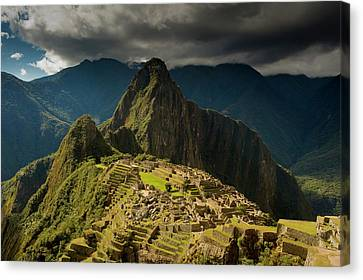 Machu Picchu, Ancient Ruins, Unesco Canvas Print by Howie Garber