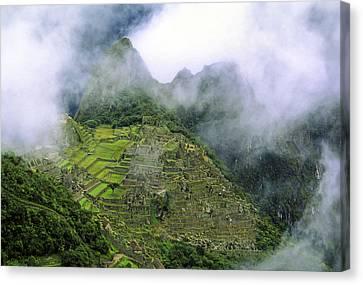 Machu Picchu Peru Canvas Print