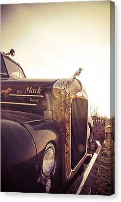 Mack Profile Canvas Print