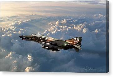 Fighters Canvas Print - Mack The Knife by Peter Chilelli