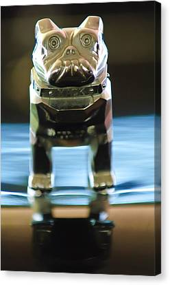 Mack Truck Hood Ornament 2 Canvas Print