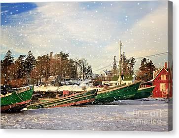Mackerel Cove Maine Canvas Print