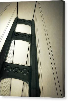 Mackinac Bridge 2.0 Canvas Print by Michelle Calkins