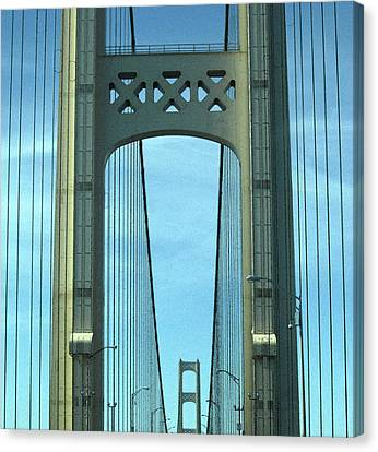 Mackinac Bridge Detail 2 Canvas Print