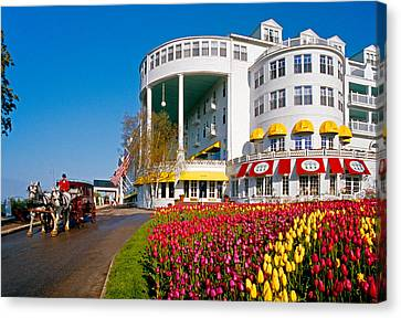 Mackinac Grand Hotel Canvas Print