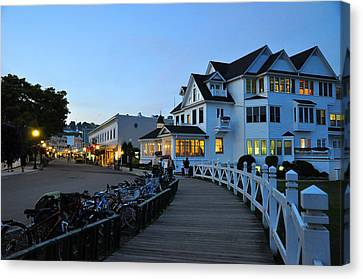 Mackinac Island At Dusk Canvas Print by Matthew Chapman