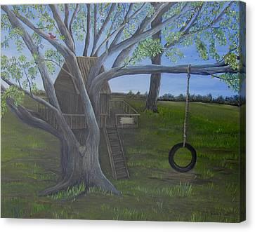 Macon Memories Canvas Print