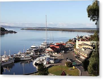 Macquarie Harbour Tasmania All Profits Go To Hospice Of The Calumet Area Canvas Print