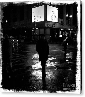 Macy's - 34th Street Canvas Print by James Aiken
