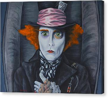 Mad Hatter Canvas Print by Travis Radcliffe