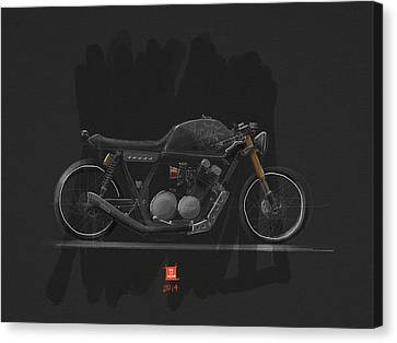 Mad Max Canvas Print by Jeremy Lacy