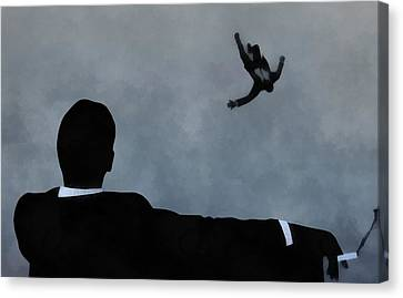 Mad Men Art Canvas Print