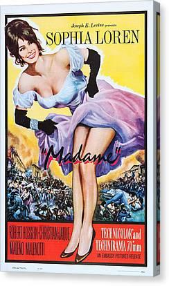 Madame, Aka Madame Sans-gene, Us Poster Canvas Print
