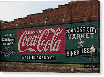 Made In Roanoke Canvas Print by Suzanne Gaff