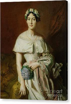 Mademoiselle Marie Therese De Cabarrus Canvas Print