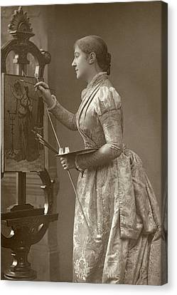 Shafto Canvas Print - Madge Kendal (1848-1935) by Granger