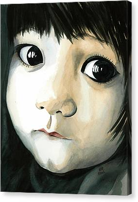 Madi's Eyes Canvas Print