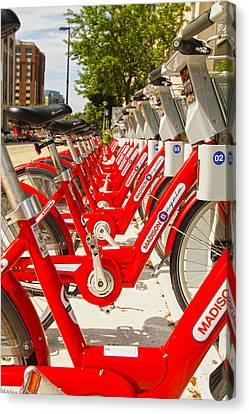 Madison Bikes - Mike Hope Canvas Print