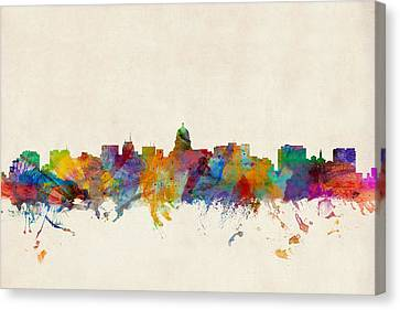 Madison Wisconsin Skyline Canvas Print