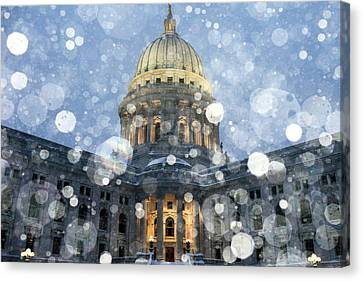 Madisonian Winter Canvas Print by Todd Klassy