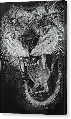 Madness Canvas Print by Barbara Keith