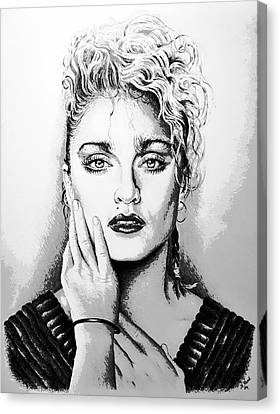 Madonna Canvas Print by Andrew Read