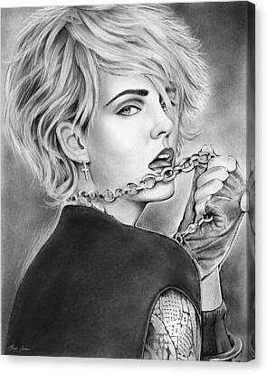 Madonna Canvas Print - Madonna by Greg Joens