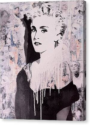 Madonna Canvas Print by John Little