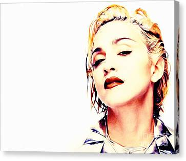 Madonna Canvas Print by Jonas Luis