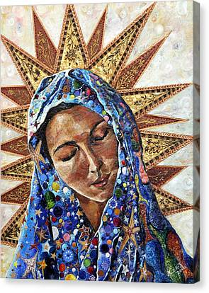 Madonna Canvas Print - Madonna Of The Dispossessed by Mary C Farrenkopf